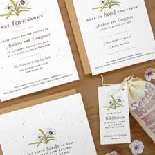 paper for wedding invitations plantable wedding invitations seed paper favors eco friendly
