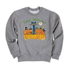 halloween fleece pete the cat happy halloween toddler crew fleece u2013 kidteez