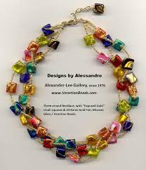 bead design jewelry necklace images Venetian beads designs by alessandro jpg