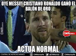 Memes De Cristiano Ronaldo - ni ganando el balón de oro cristiano ronaldo se salva de los memes