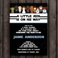 wars baby shower ideas wars baby shower invitation starwars invitation