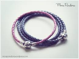 leather bracelet with charm images Review pandora leather bracelets mora pandora png