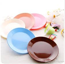 new small colorful nut plate food grade plastic dinner plates