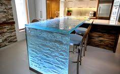 glass kitchen island pretty cool glass counter top for kitchen island island light