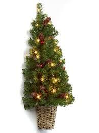 buy 90cm pre lit berry cone half tree from seasons