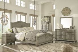 sleigh bedroom set marleny gray and whitewash sleigh bedroom set from ashley coleman