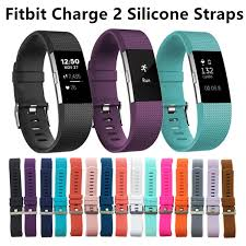 replacement silicone wrist bracelet images Fitbit charge 2 wrist wearables silicone straps band for fitbit jpg