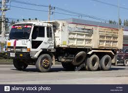 mitsubishi fuso truck chiang mai thailand january 16 2017 old private mitsubishi fuso