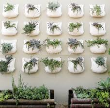 Wall Hanging Planters by Aliexpress Com Buy 2 Pieces 30 35cm Green Grow Bag Wall Hanging