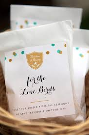 seed wedding favors bird seed wedding favors weddings ideas from evermine