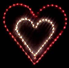 valentines day lights outdoor valentines day lighting