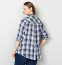 plus size blouse womens plus size blouse button back from avenue