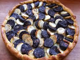 comment cuisiner le boudin noir tarte aux pommes boudin noir a boire et à manger