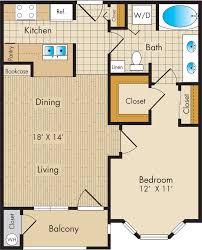 floor plans post oak park apartments