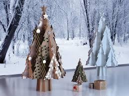 cardboard christmas tree cardboard christmas tree with 3d model