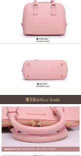 fashion woman shell luxury handbags women pink leather famous
