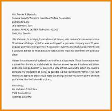 5 financial aid appeal letter samples medical report