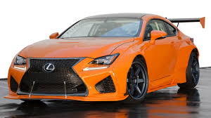 lexus rc modified lexus rc f and gs f wear burnt orange for sema