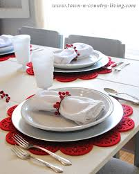 red and silver christmas table settings red and silver table decorations view larger red white and silver