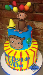 curious george birthday cake curious george cake by say it with sugar cake shop dallas