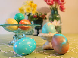 Decorating Easter Eggs Into Animals by How To Dye Marbleized Easter Eggs Hgtv