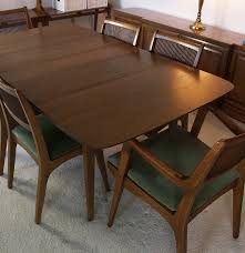 drexel profile john van koert table and six chairs ebth