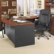 L Shaped Executive Desk Bush Furniture Series C Right L Shape Wood Executive