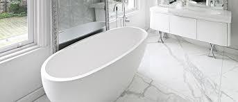 eco luxury small stone designer bath