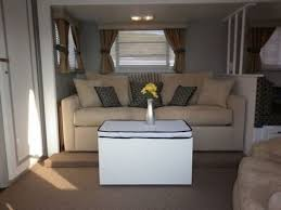 How To Decorate A Mobile Home Living Room 16 Year Old Jayco Travel Trailer Gets Interior Decor Makeover