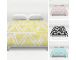 triangle bedding triangle bedding etsy