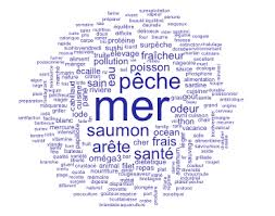 cuisiner sole figure 16 cloud of the words associated with the inducer word fish