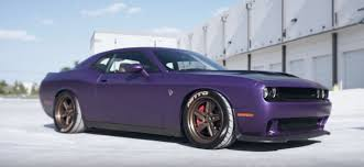 dodge challenger wheels plum dodge challenger hellcat gets adv 1 wheels with exposed