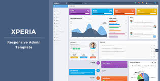 download free xperia bootstrap 3 responsive admin template