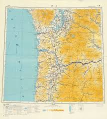 Topographic Map Of Washington by Soviet Topographic Map Of Seattle And Portland 1 1000000 1949