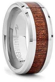 the secrets wedding band tungsten koa ring holds the secrets of how to get takes
