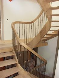 Laminate Wood Flooring On Stairs How To Build Stairs Make Curved Stairways With Handrails