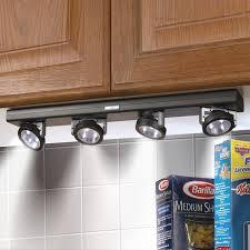Under Kitchen Cabinet Lights Attractive Battery Powered Under Kitchen Cabinet Lighting And