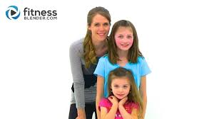 kid s fitness blender kids workout 25 minute fun workout for kids at