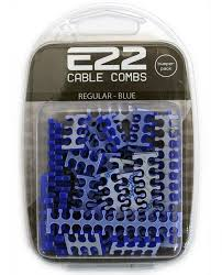 cable combs e22 cable comb kit blue all sizes 50 pack bp 009 e2 ple
