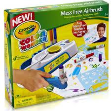 crayola color wonder mess free airbrush kit walmart com