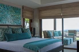 chambre turquoise et marron chambre marron bleu idées de décoration capreol us