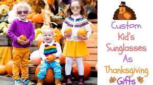 custom kid s sunglasses as thanksgiving gifts sunglassville