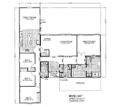 triple wide mobile homes floor plans 4 bedroom easy for entry
