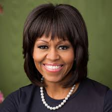 ms obamas hair new cut michelle obama biography biography