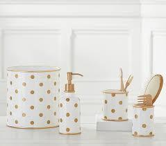 glitter dot bath accessories pottery barn kids