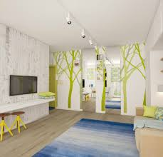 Spacious Design by Teeny Tiny Apartment Cleverly Designed To Feel Bright And Spacious