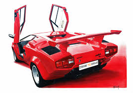 lamborghini car drawing search results for handdrawn draw to drive