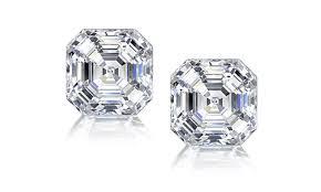 cubic zirconia stud earrings asscher cut cubic zirconia stud earrings in sterling silver groupon