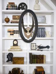 White Bookcase Ideas Living Room White Bookcase And Shelves Design For Living