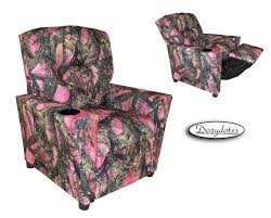 Leather Recliner Chair With Cup Holder Child Recliner With Cup Holder Pink Camouflage
